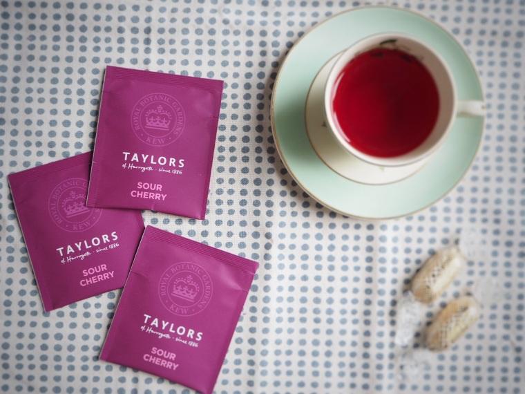decaf sour cherry tea